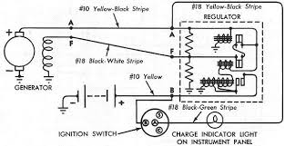 ford falcon generator charge indicator light circuit wiring
