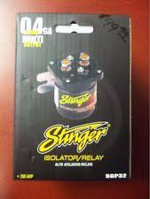 stinger sgp32 car audio 200 amp dual battery high current relay stinger battery isolator install at Stinger Sgp32 Wiring Diagram