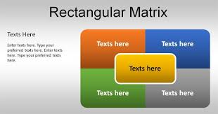Matrix Chart Powerpoint Free Simple Matrix Template For Powerpoint
