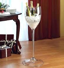 large wine glass giant wine glass giant wine stem cooler giant wine glass vase giant wine