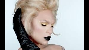 black gold makeup tutorial