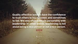 Leadership And Trust Quotes Walkingonadream