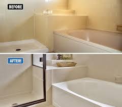 bathtub design don t replace refinish instead this transformation is remarkable porcelain bathtub paint rust oleum