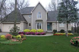 small shrubs for front of house | Shrubs in front of home