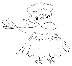 Coloring Pages Pokémon Alola Forms Morning Kids
