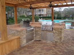 Simple Outdoor Kitchen Popular Outdoor Kitchens Ideas Pictures The Home Ideas