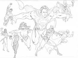 Small Picture Justice League coloring pages Pinterest Justice league