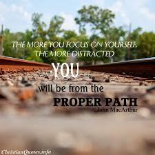 John MacArthur Quote Proper Path ChristianQuotes Impressive John Macarthur Quotes