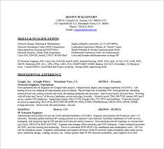 Senior Network Engineer Resume Template Network Engineer Cv Pdf ...