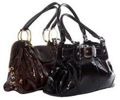 how to clean a patent leather purse