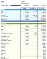 It Budget Template Excel Personal Budget Template For Excel Simple