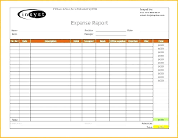 Free Finance Spreadsheet Income And Expense Report Template Free Expenses Spreadsheet