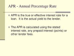 Ppt Apr Annual Percentage Rate Powerpoint Presentation Id 6679714