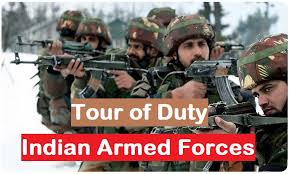tour of duty in indian army tod age