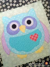 36 best Owls images on Pinterest | Fall, For the home and Hats & Posts about owl applique written by SarahRose Quilts Adamdwight.com