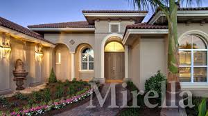 Mirella, a Modern Mediterranean Home Plan - YouTube