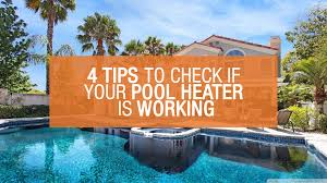 Pool Heater Pressure Switch Light On Swimming Pool Heater Not Working How To Check