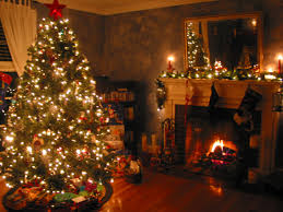 Xmas Living Room Tag Decorating Room With Waste Material Home Design Inspiration