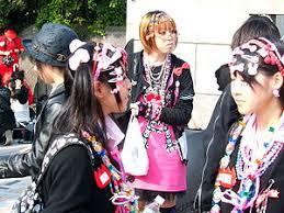 Японские молодёжные субкультуры Википедия Девушки в Харадзюку Субкультура