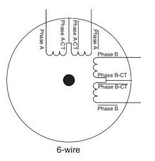 how do i use a 6 wire stepper motor with my stepper motor drive 3 Phase 6 Wire Motor Wiring Diagram figure 1 full coil bipolar motor wiring diagrams 3 phase 6 wire