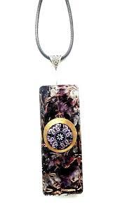 orgone orgonite pendant necklace