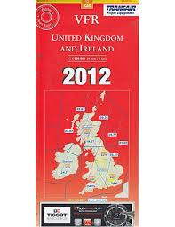 Vfr Uk And Ireland 1 1 000 000 Vfr Chart 2012 Edition