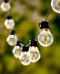 led solar string light sets ball shape bulbs wedding decor outdoor multi clear