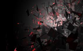 wallpaper black and red shapes hd wallpaper expert 1920x1200