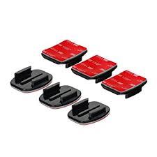 Buy <b>GoPro</b> CUFL <b>Flat and Curved</b> Adhesive Fixings for HD Hero ...