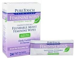 Индивидуальные вымываемые влажные женские <b>салфетки</b> - 24 ...