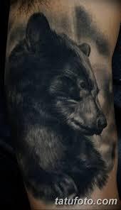 фото тату с медведем от 12092018 085 Tattoo With A Bear