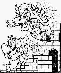 Donkey Kong Kleurplaat Schets Paper Mario Coloring Page