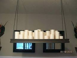 full size of pillar candle chandelier rectangular diy for chandeliers make it yourself bed bath large