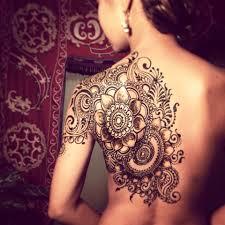 Henna On Back Craftideaorg