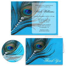 peacock invitations jewel peacock feather bridal shower invitation print creek studio inc