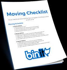Free Printable Moving Checklist Your Moving Checklist Plastic Moving Bins Nyc Nj