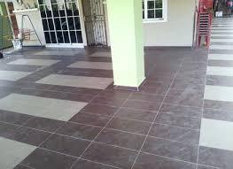 porch floor tiles car design parking