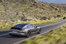 2017 Porsche Panamera Gets Entry-Level V6 Turbo And Stretched ...