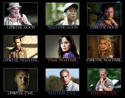 THE WALKING DEAD D&D ALIGNMENTS | Alignment | Know Your Meme via Relatably.com