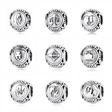 Online Shop Authentic <b>925 Sterling Silver Bead</b> Charm Libra Leo ...