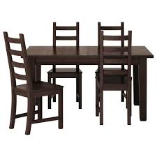 ikea kaustby stornÄs table and 4 chairs solid pine a natural material that ages