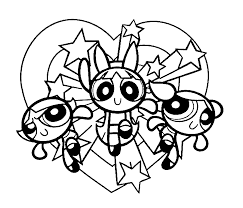 Small Picture power puff girls coloring page download