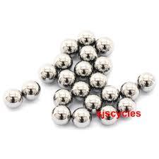 steel ball bearings. shimano 3/16 inch steel ball bearings - 20pcs y00091210 e