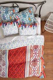 Tahla Quilt | Beautiful Bedrooms | Pinterest | Bedrooms and Room & Anthropologie - Barranco Quilt Adamdwight.com