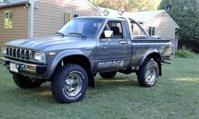 The Toyota Hilux trucks from the 1980s are tough. If you don't ...