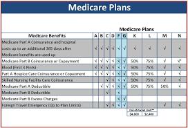 Most Popular Medicare Supplemental Insurance Plans Chart