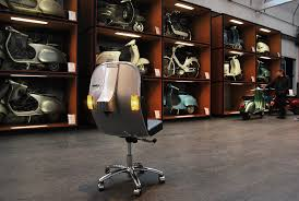 recycled vespa office chairs. THE BV-12 CHAIR IS ALREADY PART OF PIAGGIO MUSEUM IN ITALY Recycled Vespa Office Chairs