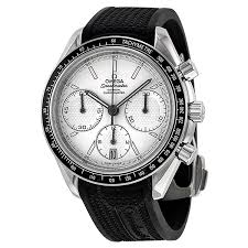 omega speedmaster racing automatic chronograph silver dial omega speedmaster racing automatic chronograph silver dial stainless steel men s watch 32632405002001