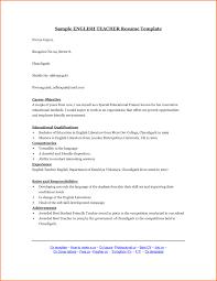 Teacher Resume Format Best Of Sample Esl Cover Letter Image
