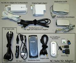 Comparing Three Ac Adapters Tidbits